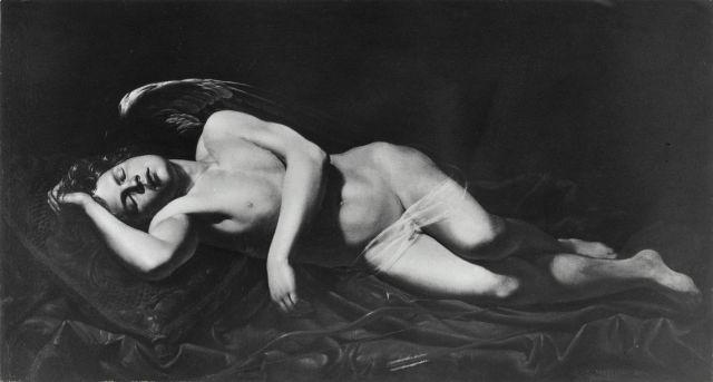 cupid sleeping